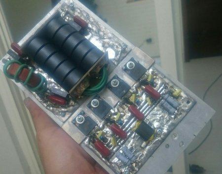 Selain IRFP 260, saya mencoba juga STW45NM60. Yang terakhir tidak saya anjurkan.