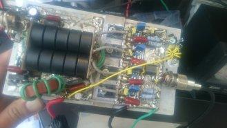 Kabel pada RFC bisa diganti kawat enamel jika ada.